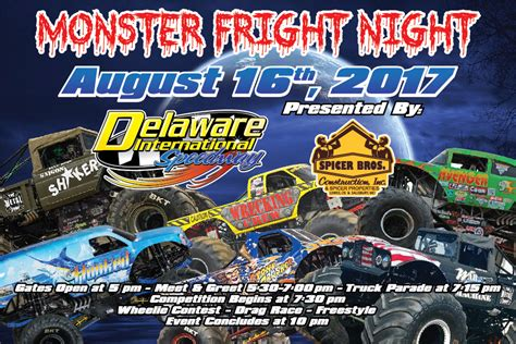 monster truck show salisbury tuff truck challenge presented by courtesy chevrolet of