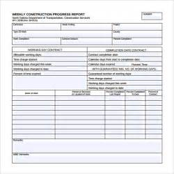 template for weekly report weekly report template 12 free documents in pdf