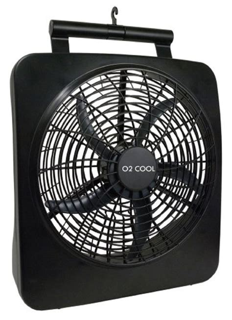 o2cool 10 portable fan o2cool 10 quot battery or electric portable fan in black