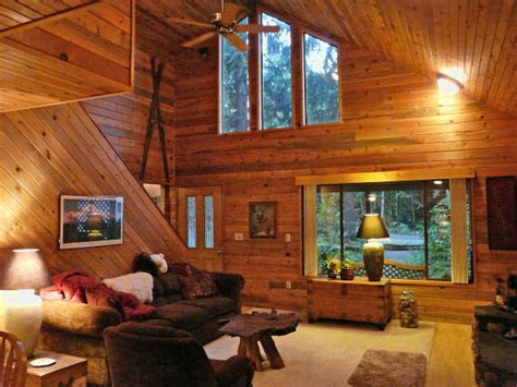 Pine Cabin by Knotty Pine Paneling Skyline Woods