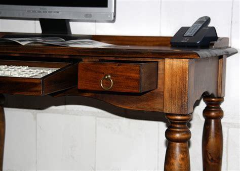 schreibtisch kolonialfarben sekret 228 r 100x80x60cm tastaturauszug schublade