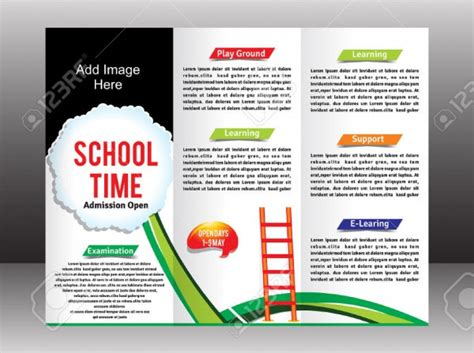 simple brochure template 21 kindergarten brochure templates psd vector eps jpg