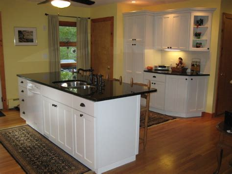 kraftmaid kitchen island kraftmaid kitchen white rehoboth traditional kitchen providence by lowes of seekonk ma
