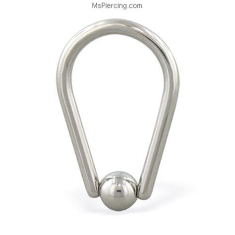 how to put on a captive bead ring teardrop captive bead ring 14 ga at mspiercing