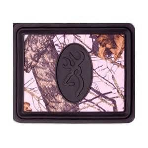 Browning mossy oak pink utility rear floor mat just camo