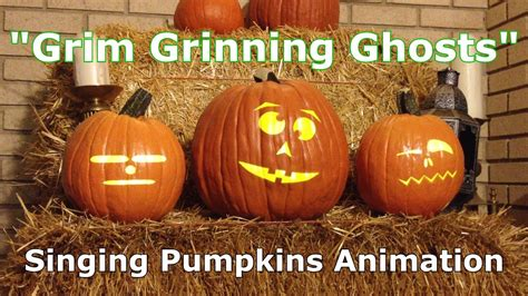 singing pumpkins grim grinning ghosts 2 0 singing pumpkins o lantern