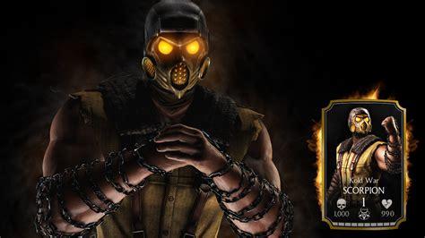 Mortal Kombat X Scorpion Wallpaper Iphone
