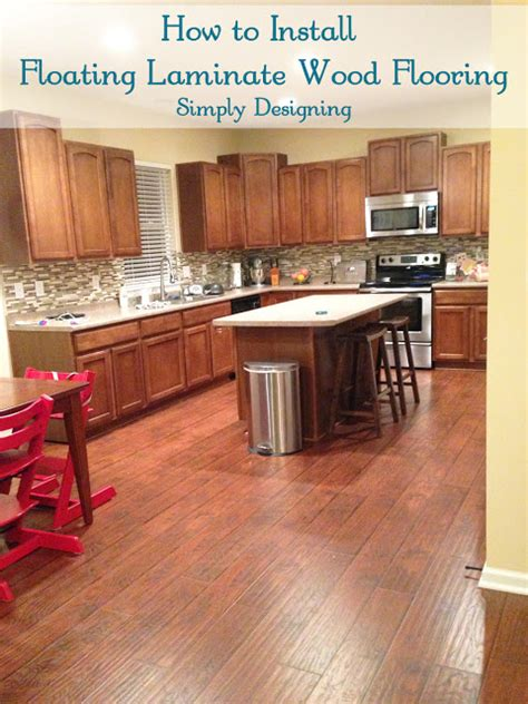 how to install floating wood laminate flooring part 1