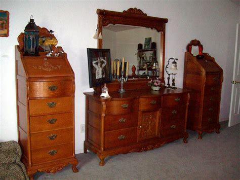 bedroom dressers for sale sale bedroom set 7 pcs tiger oak dresser mirror ebay