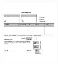 pre invoice template commonpence co