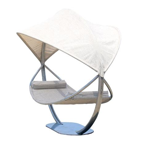 Hammock With Canopy And Stand leisure season 7 ft steel hammock stand with hammock and