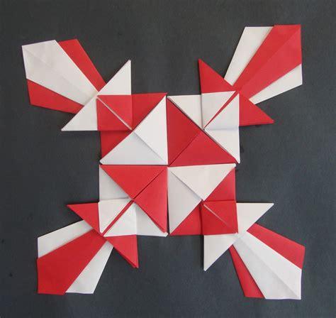 Origami Scissors - paper scissors glue symmetrical origami