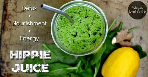 Hippy Detox by Hippie Juice Detoxifying And Energizing Green Juice