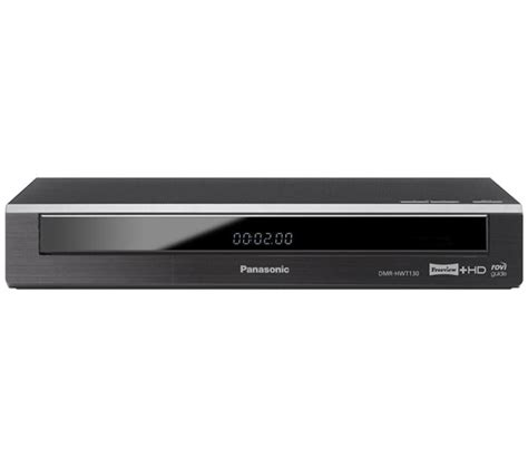 best hd recorder buy panasonic dmr hwt130eb freeview hd recorder 500 gb