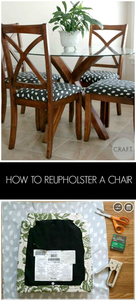 How To Reupholster Kitchen Chairs by How To Reupholster A Chair C R A F T