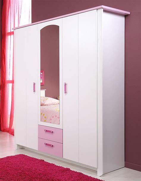 kleiderschrank rosa kleiderschrank 11 136x181x56cm wei 223 rosa 3 t 252 rig
