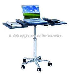 Adjustable Mobile Rolling Laptop Desk Adjustable Rolling Portable Mobile Computer Notebook Desk Stand Laptop Table Buy Laptop Table