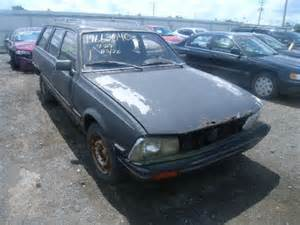 peugeot cars for sale in usa salvage peugeot 505 2 0l 4 1985 leroy ny 14482 usa