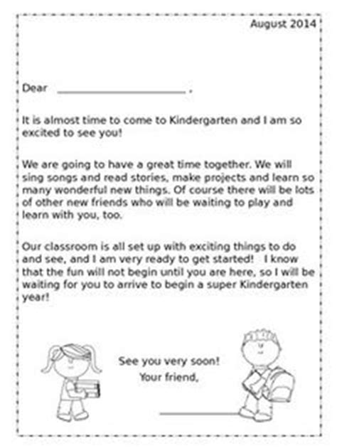 Introduction Letter To Kindergarten Students 1000 Ideas About Kindergarten Welcome Letter On Kindergarten Welcome Welcome