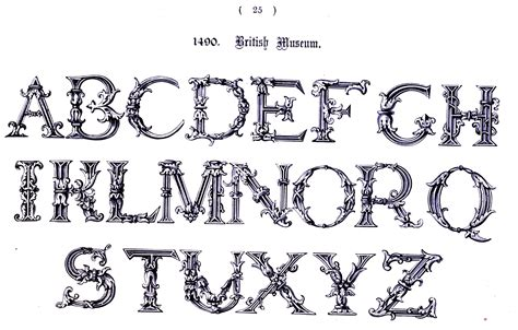 printable medieval letters 6 best images of printable medieval letters medieval