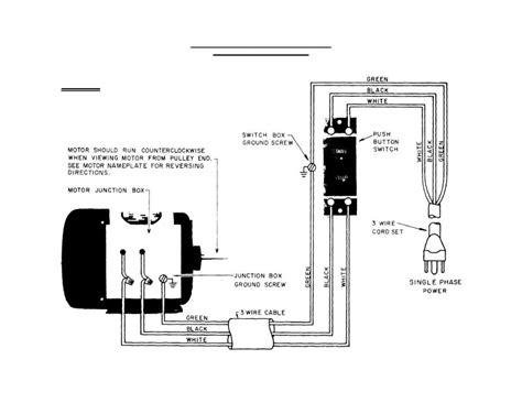 5 wire capacitor start motor wiring free wiring
