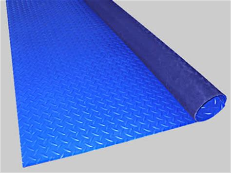 Blue Rubber Mat by Rubber Resistant Mats For Flammable Areas
