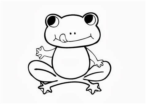 coloring page of frog print download frog coloring pages theme for kids