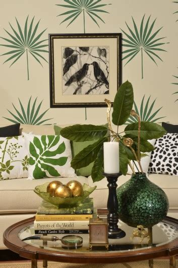 Tropical Home Decor Accessories by Trend Spotting Tropical Decorating 171 Stencil Stories