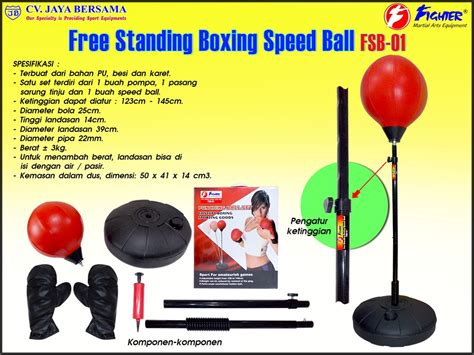 Speedball Boxing Satu Set free standing boxing speed fsb 01 cv jaya bersama