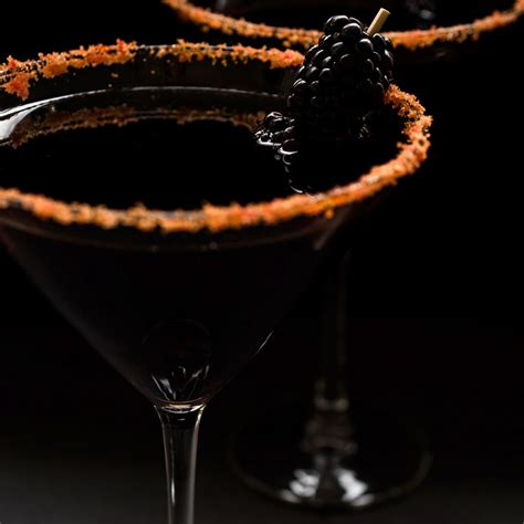black cocktail black cocktails that are scary delicious food