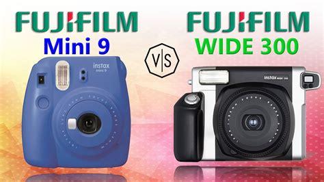 instax wide fujifilm instax mini 9 vs fujifilm instax wide 300