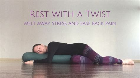 Melt The Days Stress Away by Rest With A Twist Melt Away Stress And Ease Back