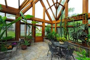 Diy Sunroom Plans Greenhouse Pavilion Koi Pond And Stone Driveway