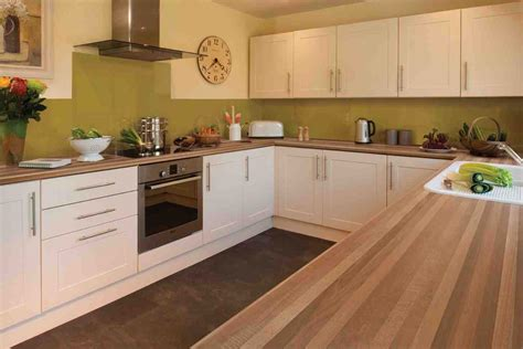 ideas for kitchen worktops kitchen design walnut worktop shaker gloss ideas