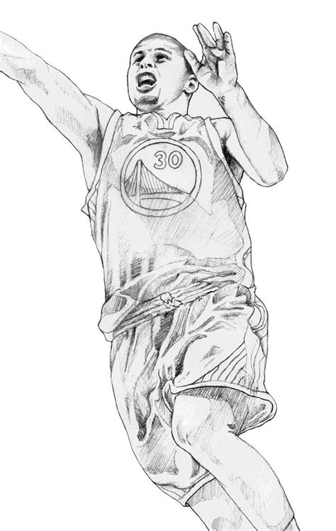 free curry coloring pages steph curry free coloring pages