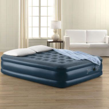 jcpenney air bed jcpenney home queen deluxe air mattress found at