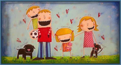 imagenes animadas felices atractivas imagenes de familia feliz animada imagenes de