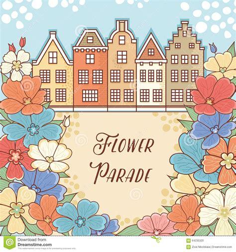 holland pattern stock flower parade in holland netherlands flower pattern