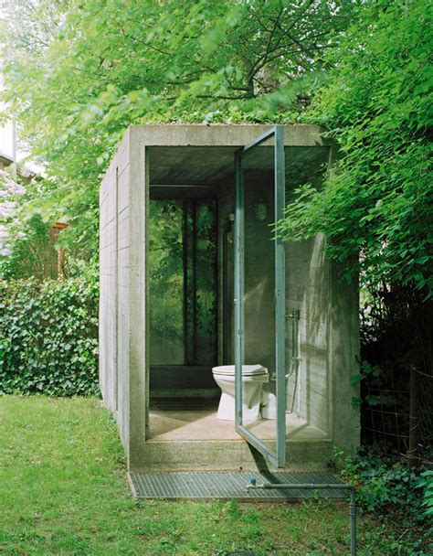 eco outdoor toilet atelier hermann rosa in munich germany yellowtrace