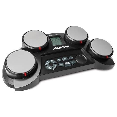 4 table top alesis compactkit 4 tabletop electronics drum kit at