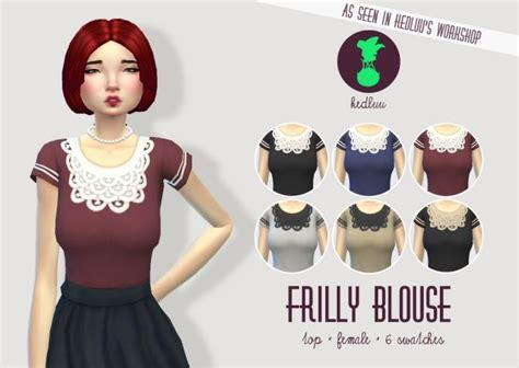Melisa Blouse Original Kheva Mauza 169 best sims 4 clothes images on