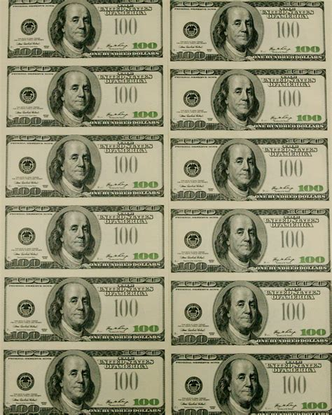 free printable fake play money 9 best images of fake printable money sheets free