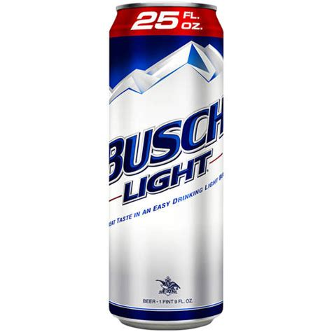 Busch Light Calories by Busch Light 25 Fl Oz Grocery Beverages