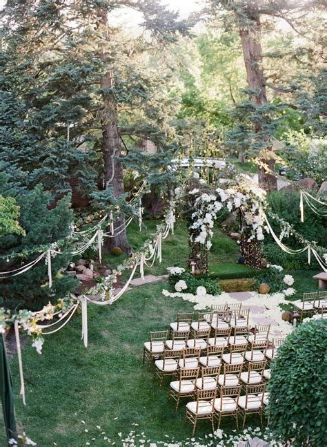 12 Dreamy Ways To Decorate Your Ceremony Space   Weddingbells