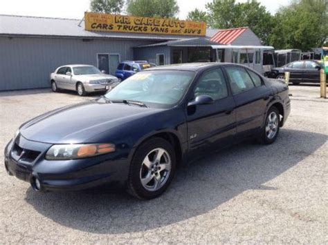 auto air conditioning service 2002 pontiac bonneville free book repair manuals buy used 2002 pontiac bonneville sle in 13999 state road 67 n camby indiana united states