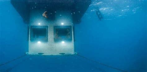 manta resort underwater room africa gets underwater hotel abc news