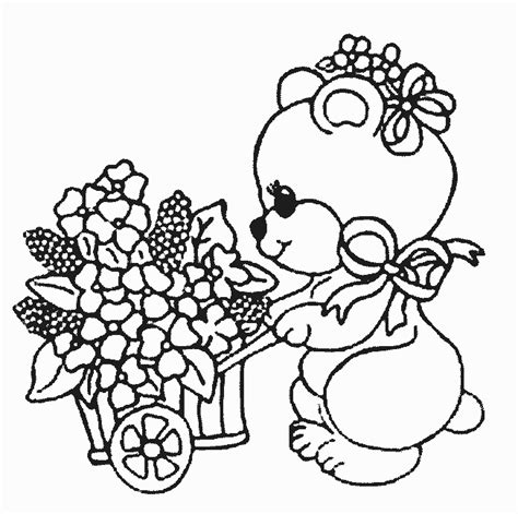 imagenes para colorear ositos coloriage ours ours 4 224 colorier allofamille