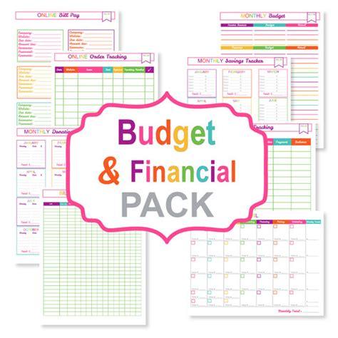 cute monthly bill organizer printable