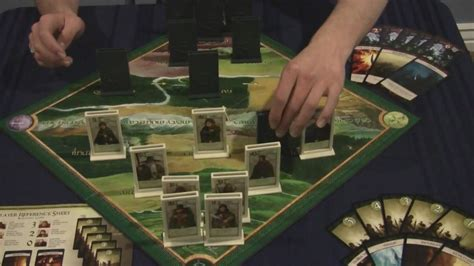 Lord Of The Rings The Confrontation 2013 Edition Original board review lord of the rings the confrontation