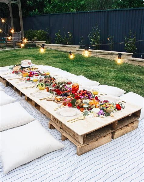 backyard picnic must see backyard party ideas for a relaxing and luxurious